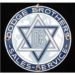 Antique Dodge Brothers Sales-Service Automobile
