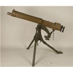 MGM Studios Wood Vickers Machine Gun Prop