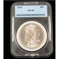 1879 Ms66 S$1