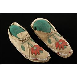 Pair of Ladies Shoshone Moccasins