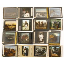 Collection of 16 Glass Slides