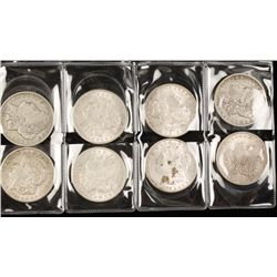 "Lot of Eight ""Morgan"" Silver Dollars"