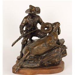 "Bronze J. Logozzo ""The Sheep Hunter"""