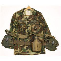 U.S. Army Airborne Camo Uniform