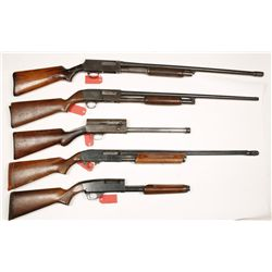 Lot of Five Parts Shotguns