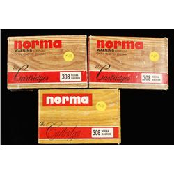 Lot of 308 Norma Mag Ammo