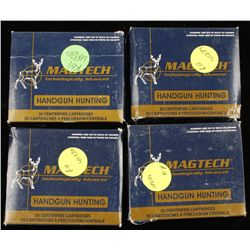 Lot of Magtech .500 S&W Mag Ammunition