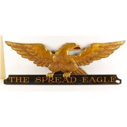 "English ""The Spread Eagle"" Sign"