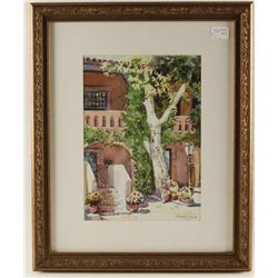 Matted and Framed Brummermann Print
