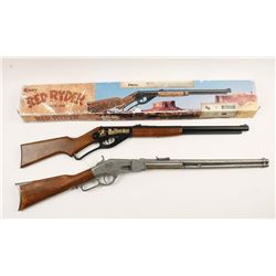 Daisy Red Ryder BB Gun and Winchester Prop Gun