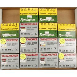 Lot of 28 Gauge Ammunition