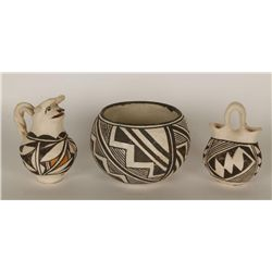 Three Acoma Pots