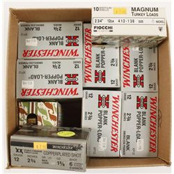 Lot of 12 Gauge Shotgun Ammunition