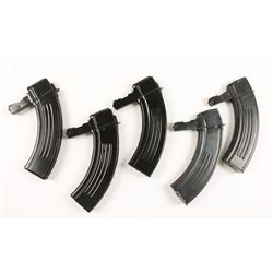 Lot of Five 30-round Magazines for SKS Carbines