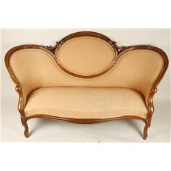 Enchanting Victorian Loveseat.