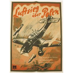 German WWII Luftwaffe Pilot Recruiting Poster
