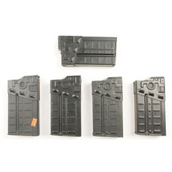 Lot of Five 20-round HK91 Magazines