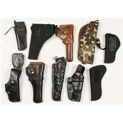 Lot of 10 Holsters