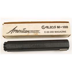 Calico .22LR 100 Round Magazine
