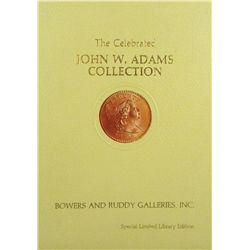Special Edition John W. Adams Large Cents
