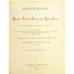 Belden's Copy of Frossard's Monograph, with Letter