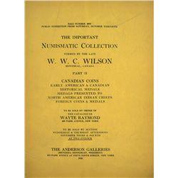 W.W.C. Wilson Part II