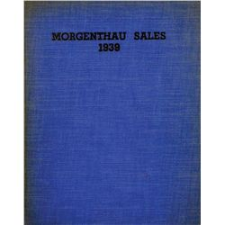 Special Edition Morgenthau Sales of 1939