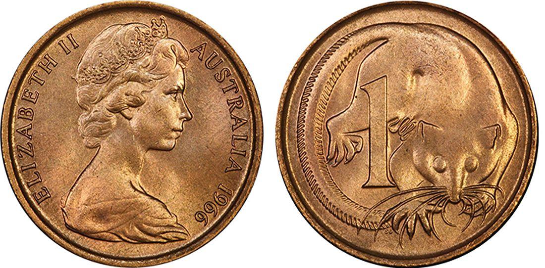 rare australian 1 cent coins