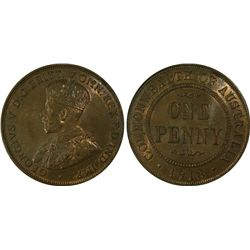 1916 Penny PCGS MS 63 BN