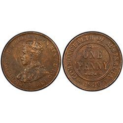1920 Plain Penny PCGS XF 40
