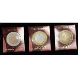 """Millenium Coins Series """"past, present and future"""""""