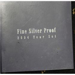 2004 Fine Silver proof Set