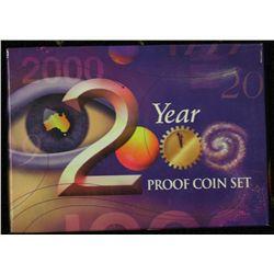 Australian proof Set 2000