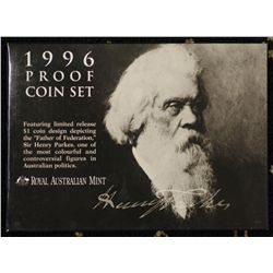 Australian proof Set 1996