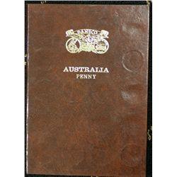 Australia Penny set 1911 to 1964 (no 1930)