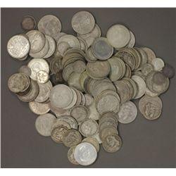 1 kilo Pre 1945 silver , mostly florins