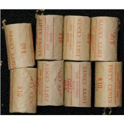 1980 50c Rolls, (6), 1981 (2)