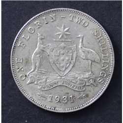 1931 Florin Extremely Fine