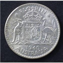 1940 Florin Uncirculated