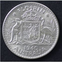 1940 Florin Choice Uncirculated