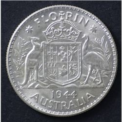 1944 Florin Choice Uncirculated