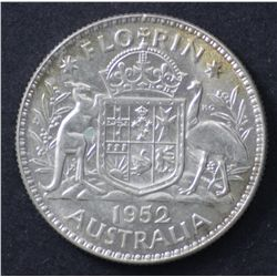 1952 Florin Choice Uncirculated