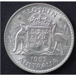 1953 Florin Choice Uncirculated