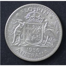 1956 Florin Nearly Uncirculated