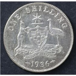 1936 Shilling Choice Uncirculated