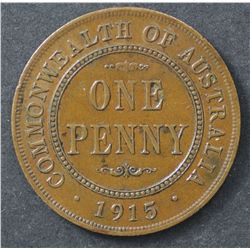 1915 Penny Extremely Fine