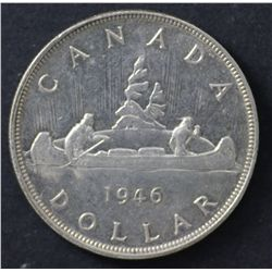 Canada Dollar 1946 Uncirculated