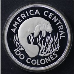 Costa Rica 100 Colones 1974 Proof