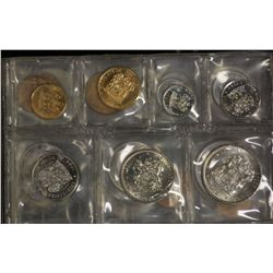 South Africa Mint Sets 1981, 1982, 1983, 1984 & 1985