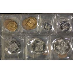 South Africa Mint Sets 1977, 1978, 1979, 1980